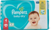 Pampers Baby Dry Gr. 4, Maxi 9-14kg