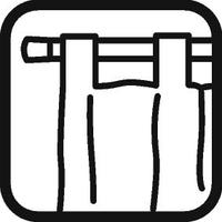 Dispositivo di fissaggio delle tende: Passante