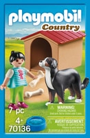PLAYMOBIL 70136 Enfant avec chien