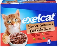 Exelcat Sauce multipack