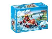 Playmobil Gommone dei predatori