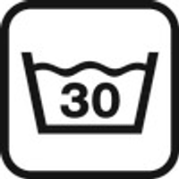 Waschhinweis: 30°