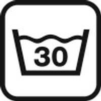 istruzioni di lavaggio: 30°