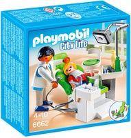 PLAYMOBIL City Life Cabinet de dentiste 6662