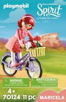 PLAYMOBIL 70124 Maricela et bicycl.
