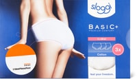 Sloggi Damen-Slip Basic+ Midi im 3er-Pack