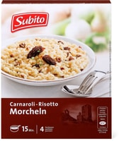 Subito Risotto mit Morcheln