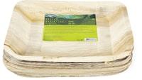 Cucina & Tavola Assiettes feuilles de palmier NATURESSE