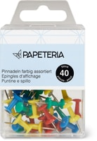 Papeteria Pinnnadeln farbig 40stk