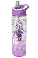 Cucina & Tavola Trinkflasche mit Glitzer