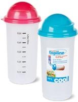 Shakers professionnels ou vaisselle pour micro-ondes, Migros Topline, en lot de 2
