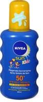 Nivea Sun FP 50+ kids spray colorato