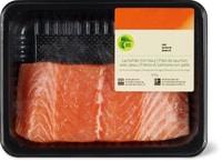 Filetto di salmone bio con pelle