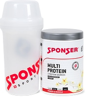 Sponser Multi-Protein 240g avec gourde gratuite