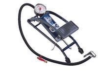 SKS Picco Fußpumpe - Tretpumpe mit Manometer