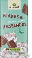 Alnatura Schokolade Flakes & Haselnuss