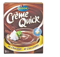Crème Quick au chocolat