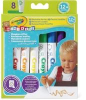 Crayola 8 feutres lavables Mini Kids