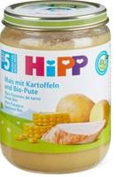 Bio HiPP Maïs pommes de terre et dinde