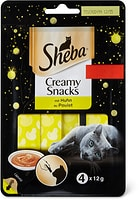 Sheba Creamy snacks Poulet