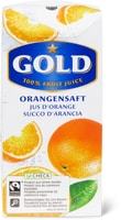 Jus d'orange Gold, Fairtrade, 33cl et 3x 33cl