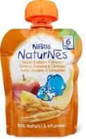Nestlé Naturnes gourde pomme, banane et céréales