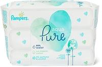 Lingettes imprégnées Pampers pour bébé, en emballages multiples