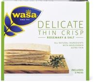Wasa Delicate Thin Crisp Rosem. & Salt