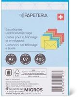 Papeteria Bastelkarten und Briefumschläge, FSC