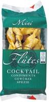 Mini Flûtes Cocktail condiments