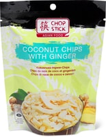 Chop Stick coconut Chips with ginger