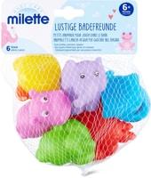 Milette Petits animaux pour jouer dans le bain