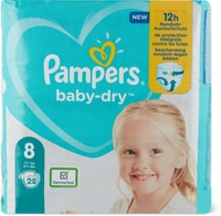 Pampers Baby Dry Gr. 8, 17+kg