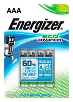 Energizer Eco advanced AAA (4Stk.) Batterie
