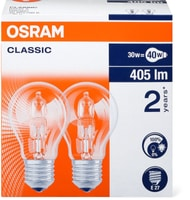 Osram Halogen CL A 30W E27 DUO