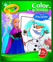 Frozen Mal- Und Stickerbuch (6)