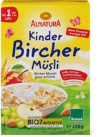 Alnatura Bircher Muesli pour enfants