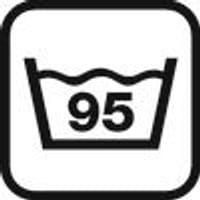 istruzioni di lavaggio: 95°