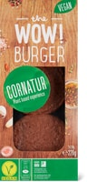 Cornatur the Wow! Burger, vegano