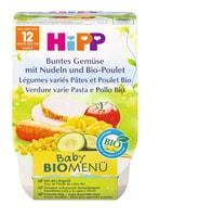 Bio HiPP Légumes varies pates poulet