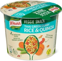 Knorr veggie snack Thai green curry