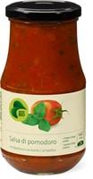 Bio Salsa di pomodoro mit Basilikum