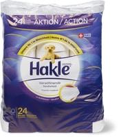 Papier hygiénique Hakle en emballages spéciaux et multiples