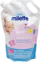 Produit de lessive liquide Milette, en sachet de recharge de 1,265litre