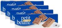 Biscuits Petit Beurre au chocolat au lait en lot de4