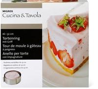 Cucina & Tavola Anello per torte con impugnature