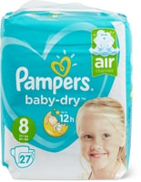 Pampers-Baby-Dry Gr. 8 und -Pants Gr. 7