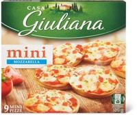 Casa Giuliana mini Pizza mozzarella