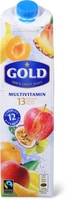 Alle Gold Säfte, 1 Liter und 330 ml