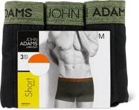 Boxer aderenti da uomo John Adams in conf. da 3